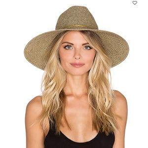 "ALE BY ALESSANDRA // gold ""sancho"" hat"